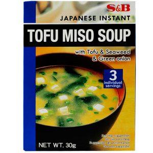 Бяла мисо супа с Тофу