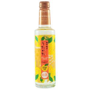 Искрящo саке с освежаващ сок Юзу (сок от японски лимон)